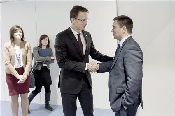 FM Szijjarto holds talks in Basel