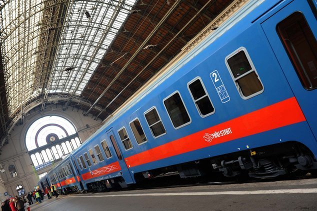No more sleeping- and buffet cars on Hungarian State Railways international trains