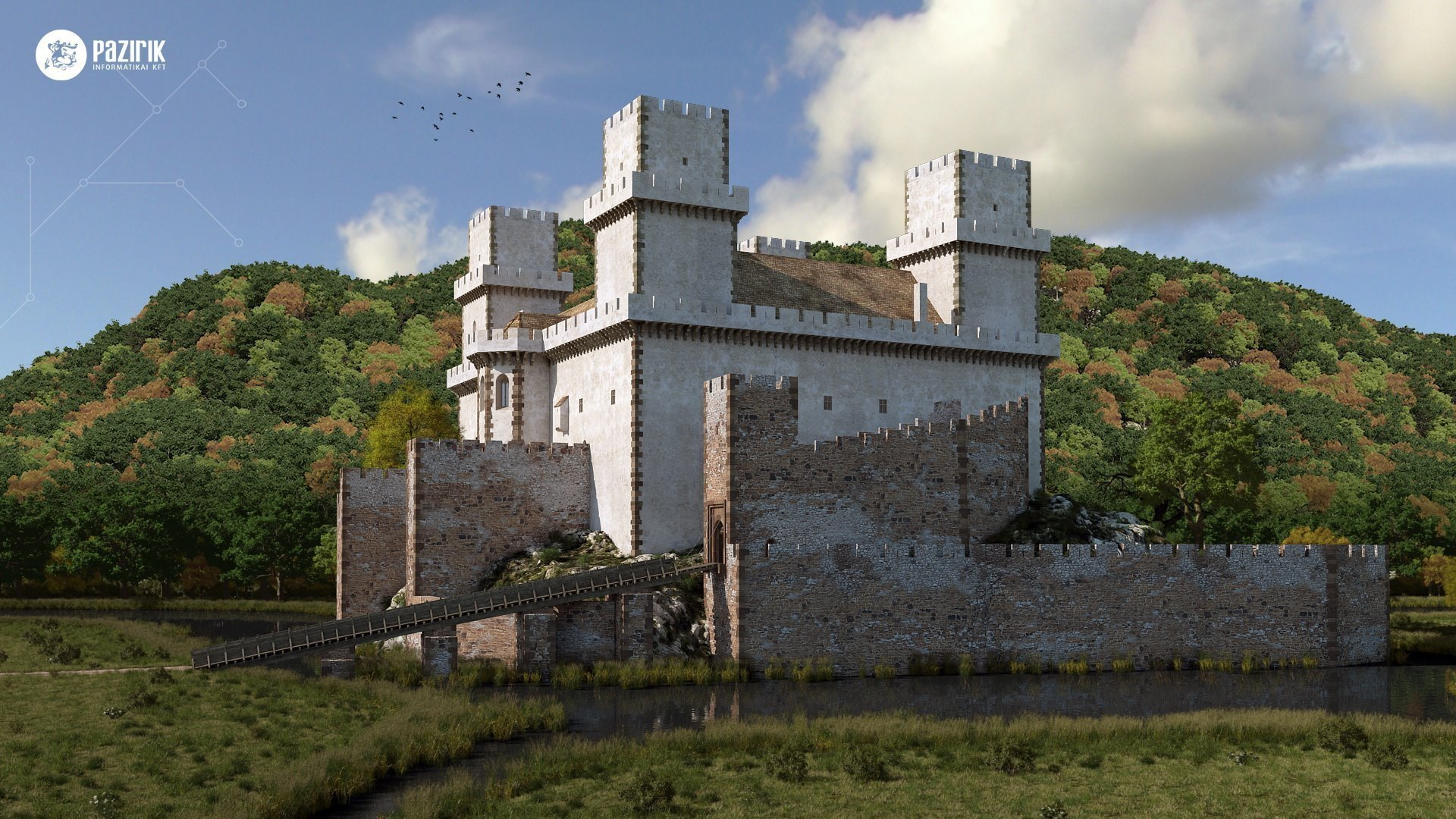 Simontornya Hungary  city images : ... Row of Hungarian Castles Are Built Up Again in 3D Daily News Hungary