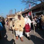 busójárás festival Mohács Hungary