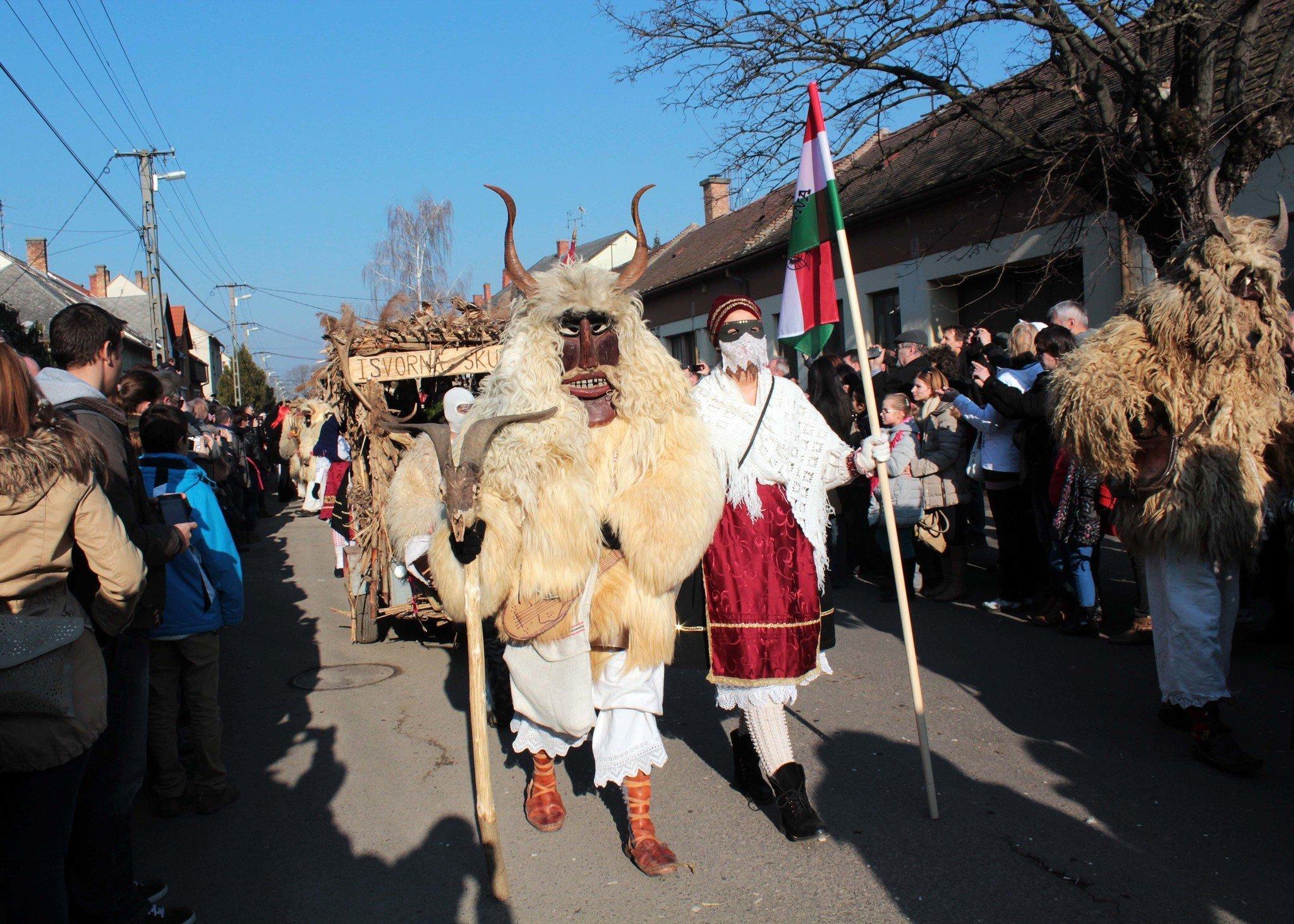 When the Busós come, the winter goes! – Busójárás in Mohács – VIDEOS