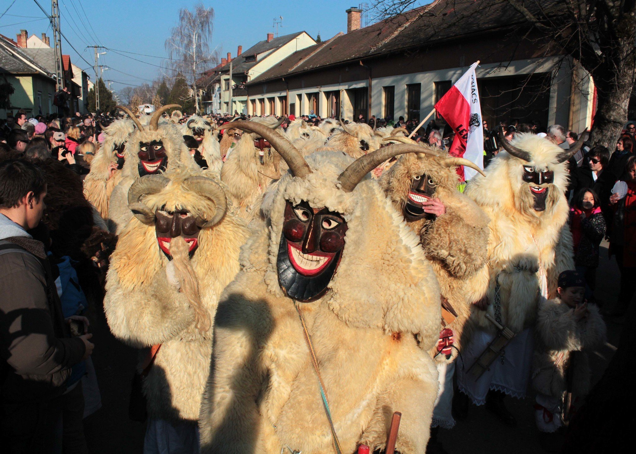 Hungary's greatest event comes soon: masked revellers to scare off winter