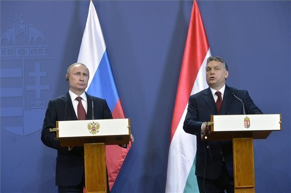 Putin in Budapest – Orban: EU-Russia relations must be settled as quickly as possible