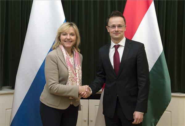 Szijjarto meets Bavaria's EU minister