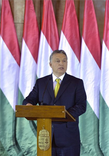 Orban on Putin's visit, multicultural society