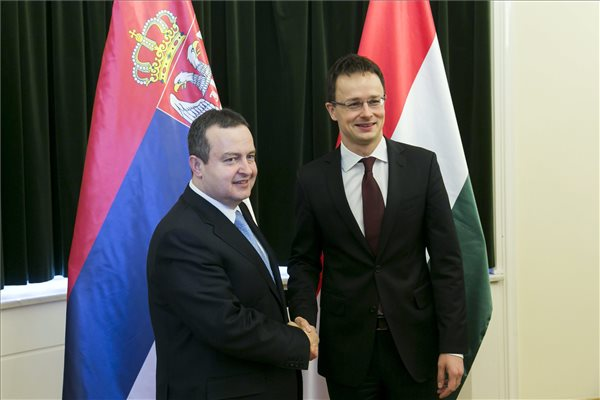 Szijjarto sees Hungarian-Serbian cooperation more balanced than ever