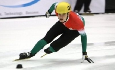 Hungarian speed skating World Cup victory