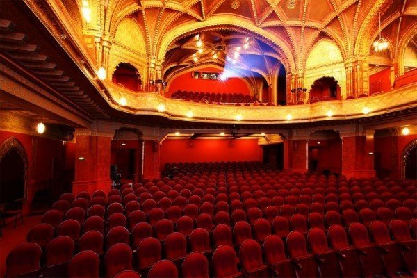 Urania is one of the world's most beautiful cinemas