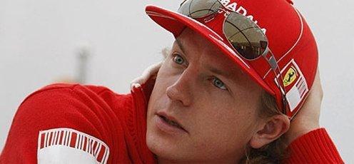 Raikkonen will ride with a Ferrari on Chain Bridge