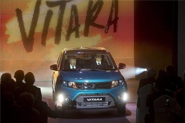 PM Orban and Osamu Suzuki launch production of new model in Esztergom
