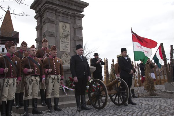 March 15 – Hungarian national holiday marked around the world