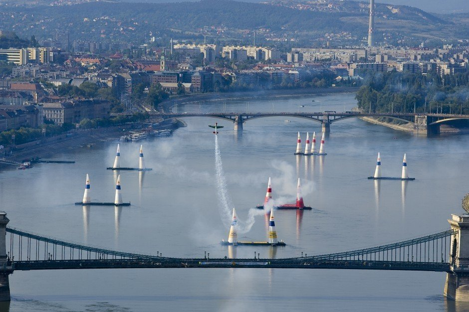 The Red Bull Air Race is in Hungary again