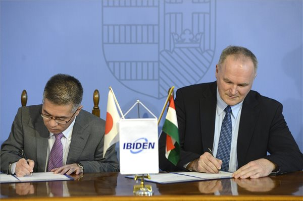 Government signs strategic cooperation agreement with Ibiden unit