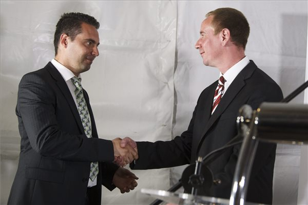 Jobbik candidate in lead in by-election