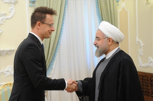 Iranian President Rouhani: Iran, Hungary bridge between Middle East and Central Europe