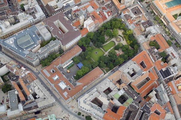 Secret gardens in Budapest's downtown