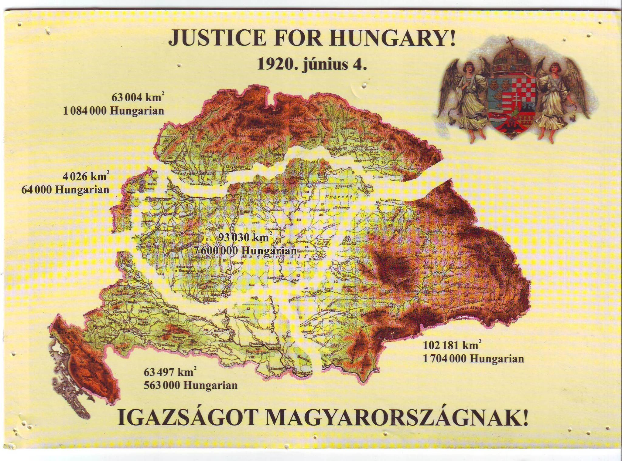 trianon treaty hungary