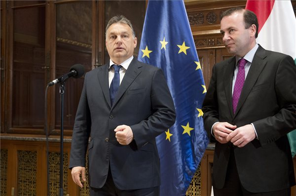 Orban had a working breakfast with EPP parliamentary leader