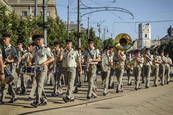 19th International Military Band Festival in Debrecen