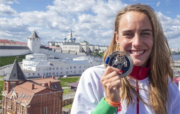 Olasz wins Hungary's first medal in Kazan in women's 25 km Open Water event