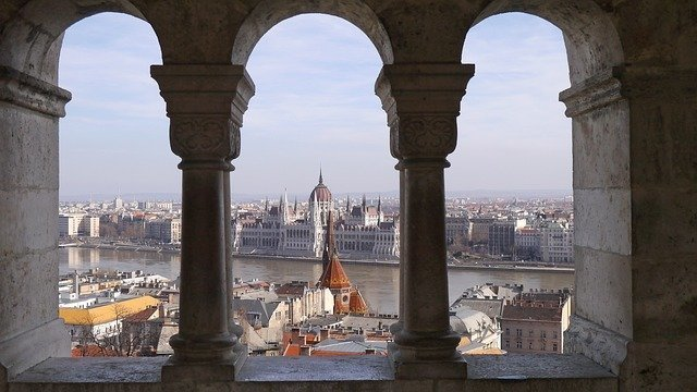 Here you can see the most beautiful buildings of Budapest from inside