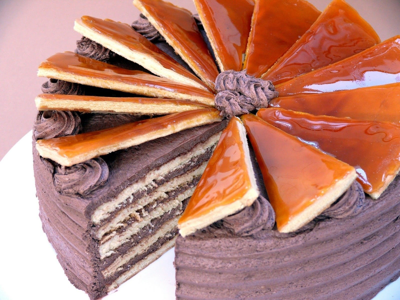 The real Dobos Cake that conquered the world