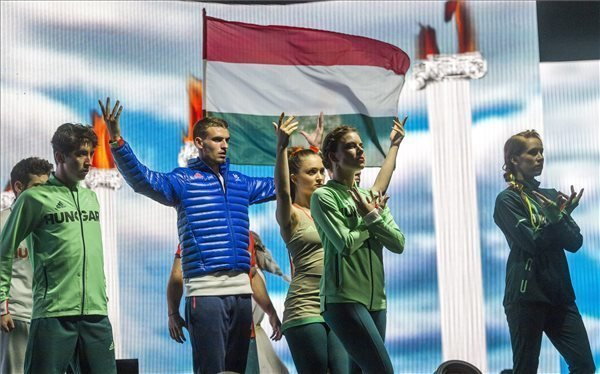 Hungarian team's sportswear for Rio 2016 Olympics presented – photos and video