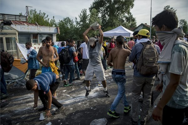 Police stop migrants breaking through crossing point at Hungary-Serbia border – UPDATE