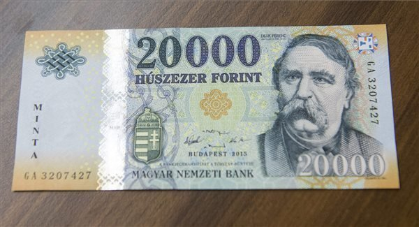 NBH issues revamps HUF 20,000 banknote