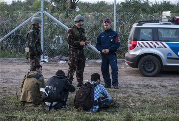 16 migrants cut through border fence, face punishment under stricter rules