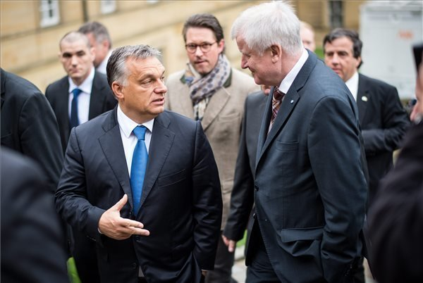 Orban talks with the Bavarian minister-president about migrants crisis