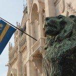 székely szekler flag parliament Budapest