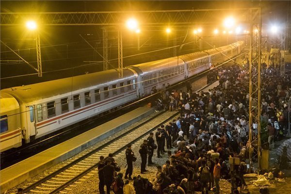 So far over 217,000 migrants have crossed into Hungary – PHOTOS from the weekend