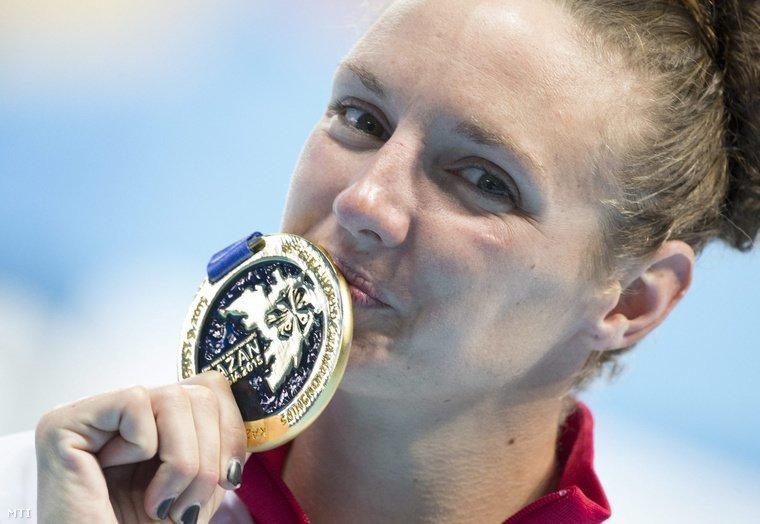Katinka Hosszu is the 9th greatest sportswoman of Europe