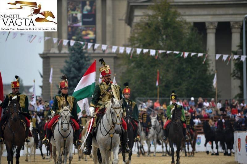 On this weekend: The horsemen of the National Gallop will be at Heroes' Square