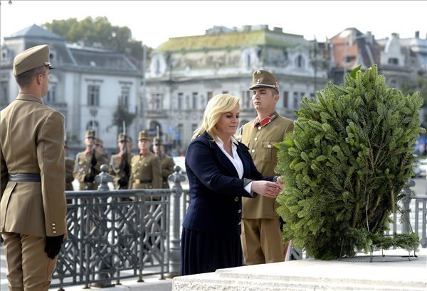 TV interview: Croatian president visits Hungary as friend