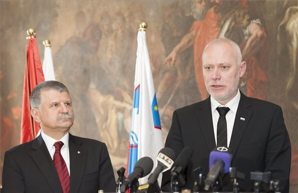 "Hungary-Slovenia cooperation ""exemplary"", says parliamentary speaker"
