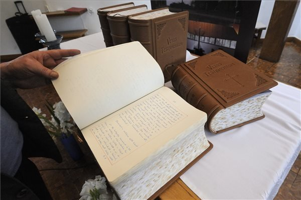 Manuscript of Bible to be presented to Pope Francis