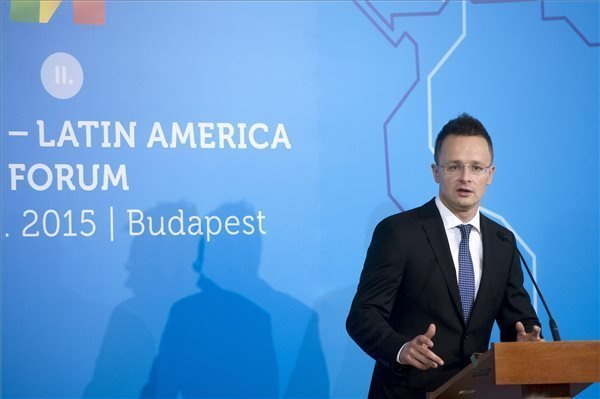 The second Hungary-Latin America Forum in Budapest hold in the Parliament