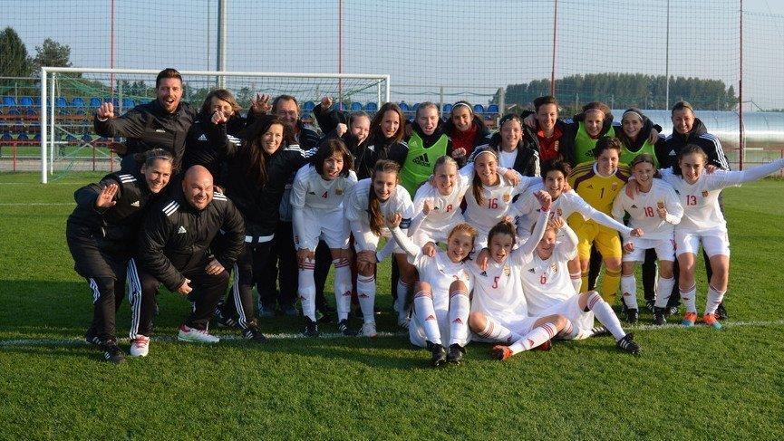 Women's Under 17 team qualify for EURO Elite Round