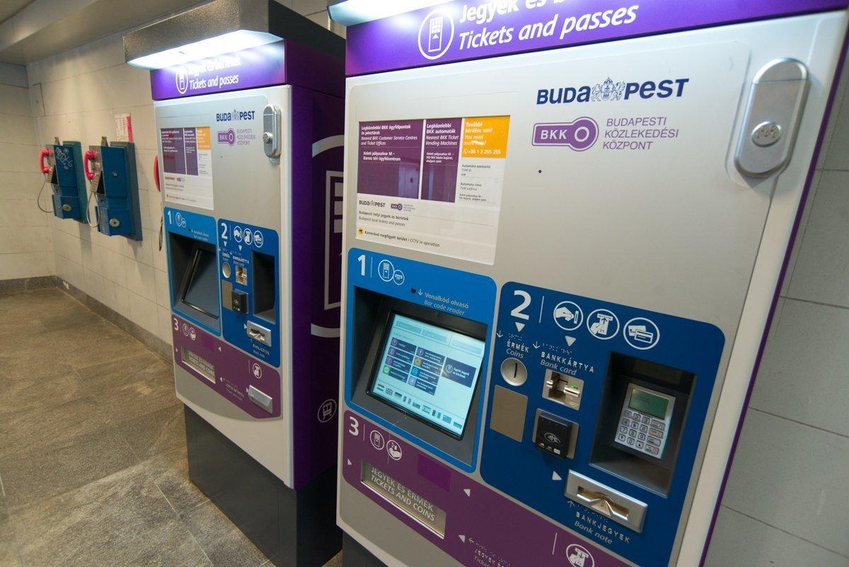 Budapest loves ticket machines
