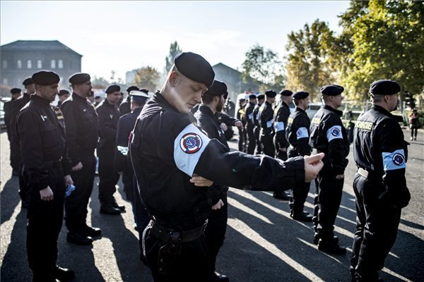Czech police officers had arrived to contribute to Hungary's border protection efforts