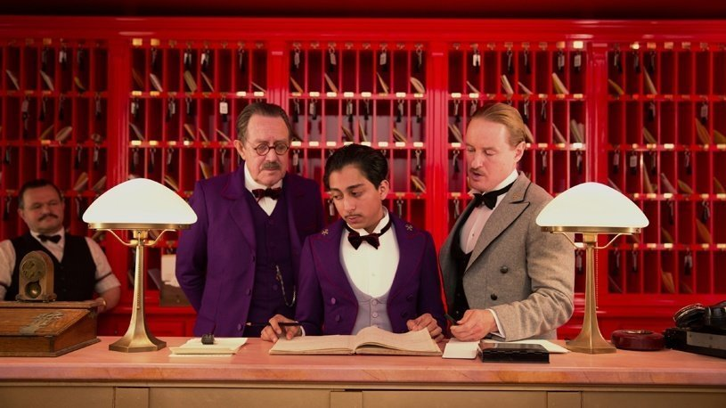 What do foreign celebs and guests request from a receptionist in a Budapest hotel?