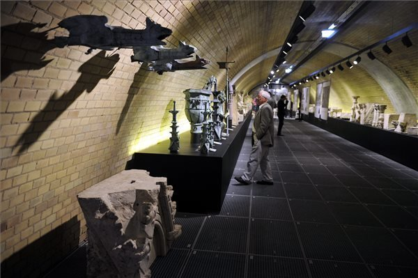 Lapidarium opened in Parliament's ventilation tunnel