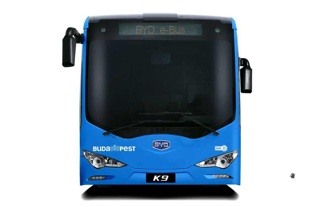 BYD of China wins tender for supplying Budapest public transport company with K9 electric buses
