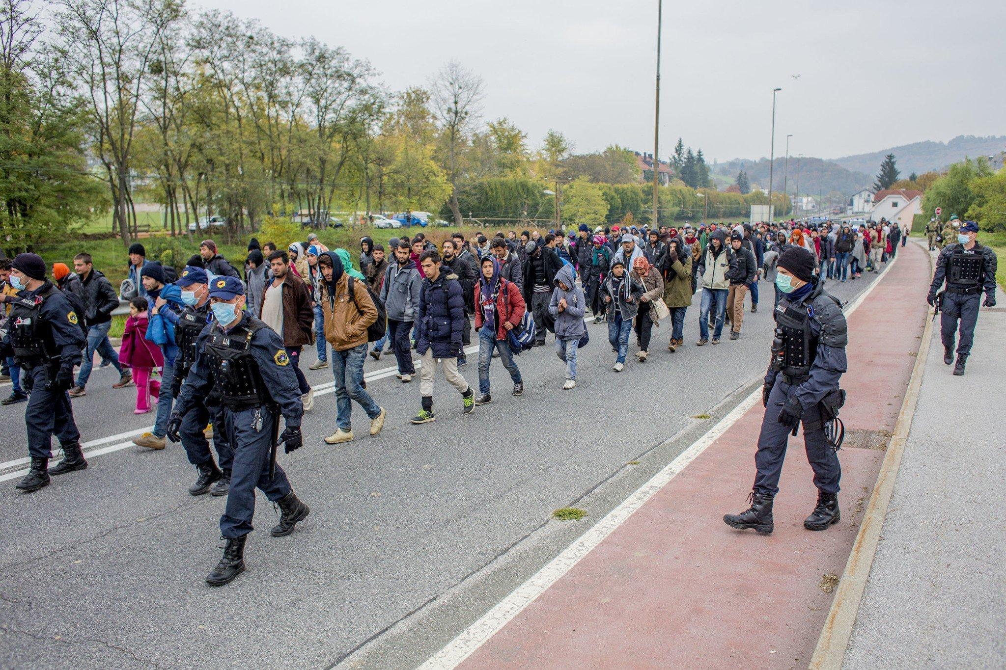 What the Slovenian-Austrian border looks like – Photos