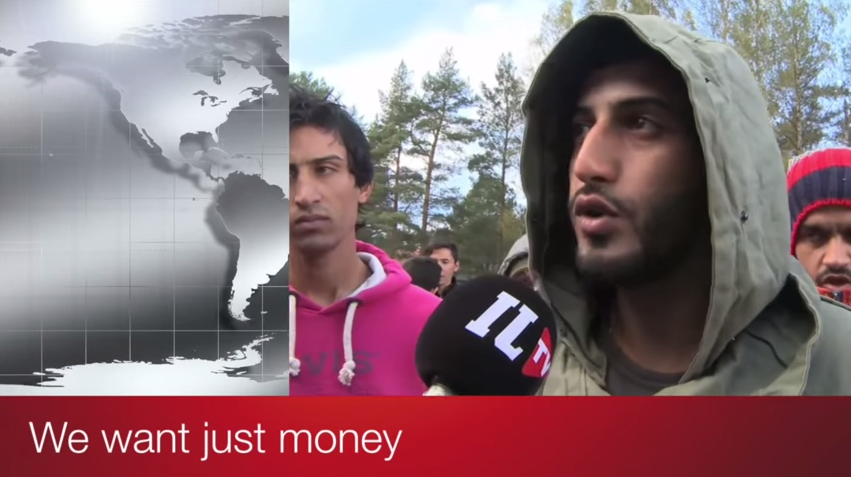 The refugees now regret they came to Europe