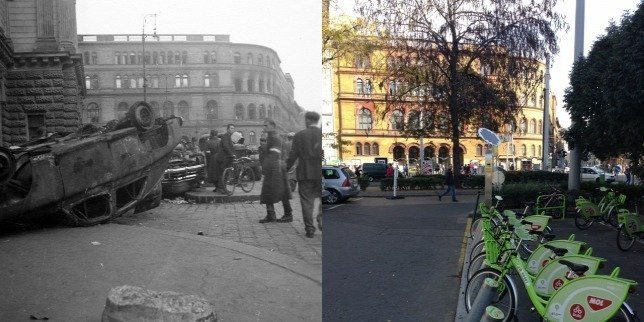 Travel back to the Budapest of 1956 with this app