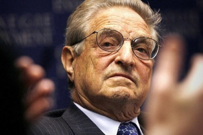 Soros receives human rights award, then donates the money to Hungarian charity