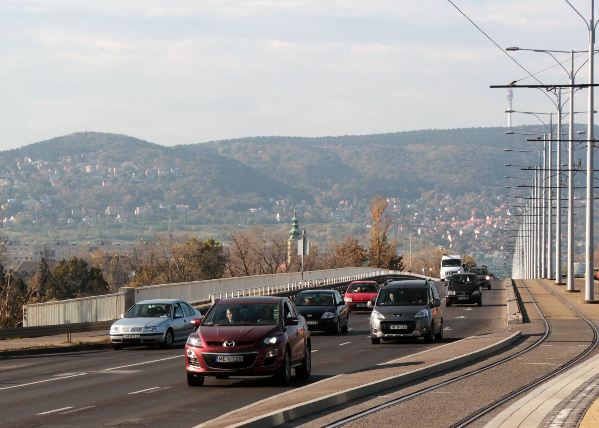 Is Budapest a car-friendly city?